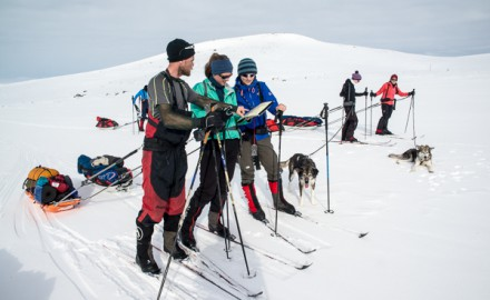 Finnmark Plateau West – East Skiing Expedition. 9 days