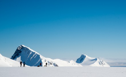 Spitsbergen spring skiing expedition at 78° North. 10 days