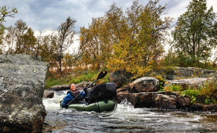 Packrafting in Stabbursdalen National Park. 9 days